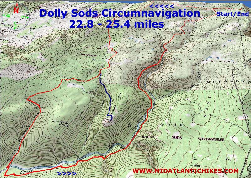 Dolly Sods Circumnavigation